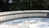 peace free easy memorial bench Oswego State