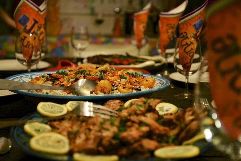 Armenian dinner party