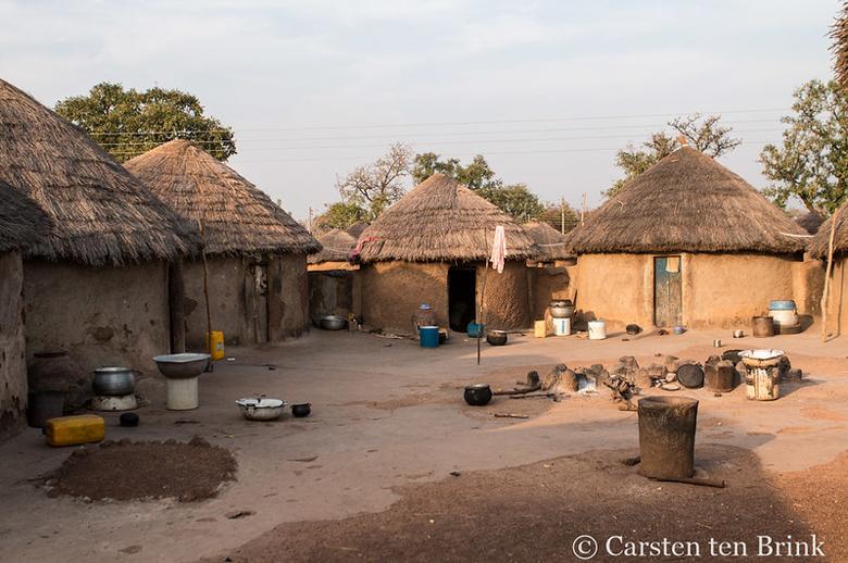 Dagomba village in Ghana