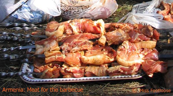 Armenian barbecue