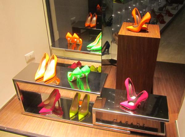 Window shopping in Rome