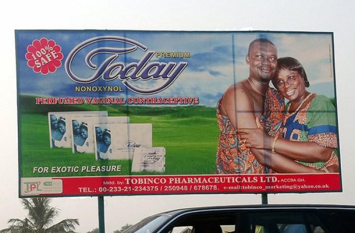 Ghana billboard