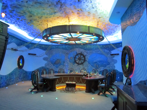 Tasting room in Moldova