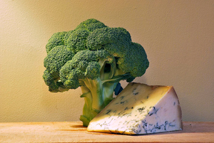 Broccoli and Stilton