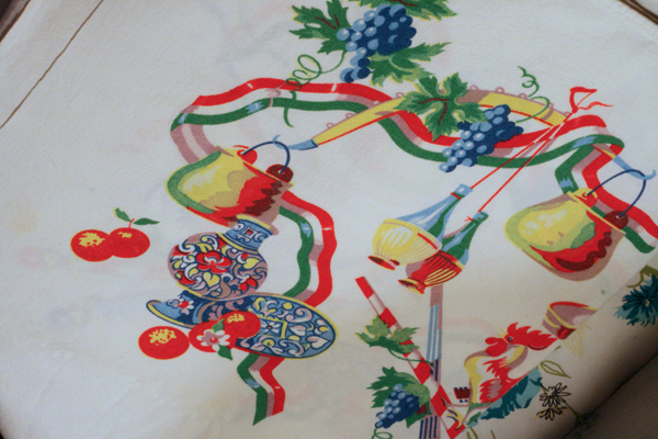 Italian table cloth