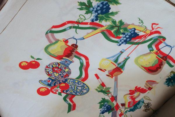 Italian table cloth