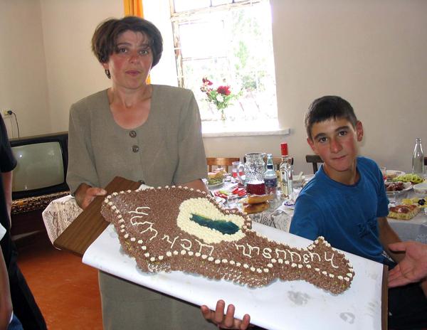 Armenian Birthday Cake