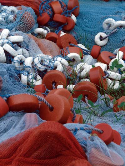 African fishing nets