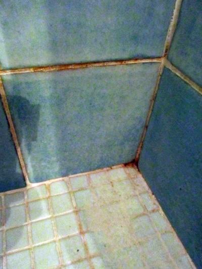 Scummy bathroom