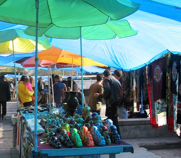 Flea Market in Armenia