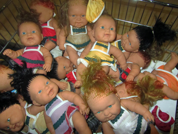 Dolls found in Turkey
