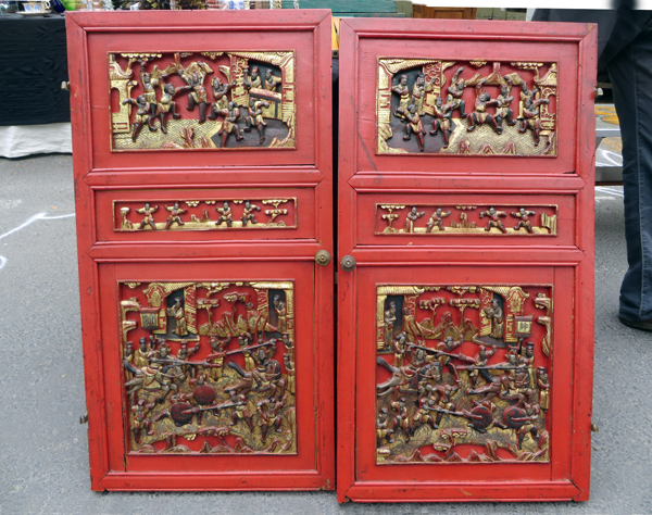 Chinese cabinet doors