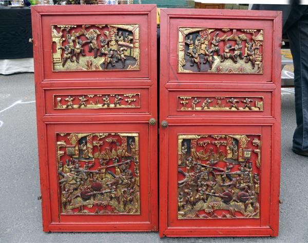 Chinese cabinet doors