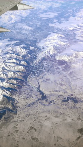 Flying Over the North Slope