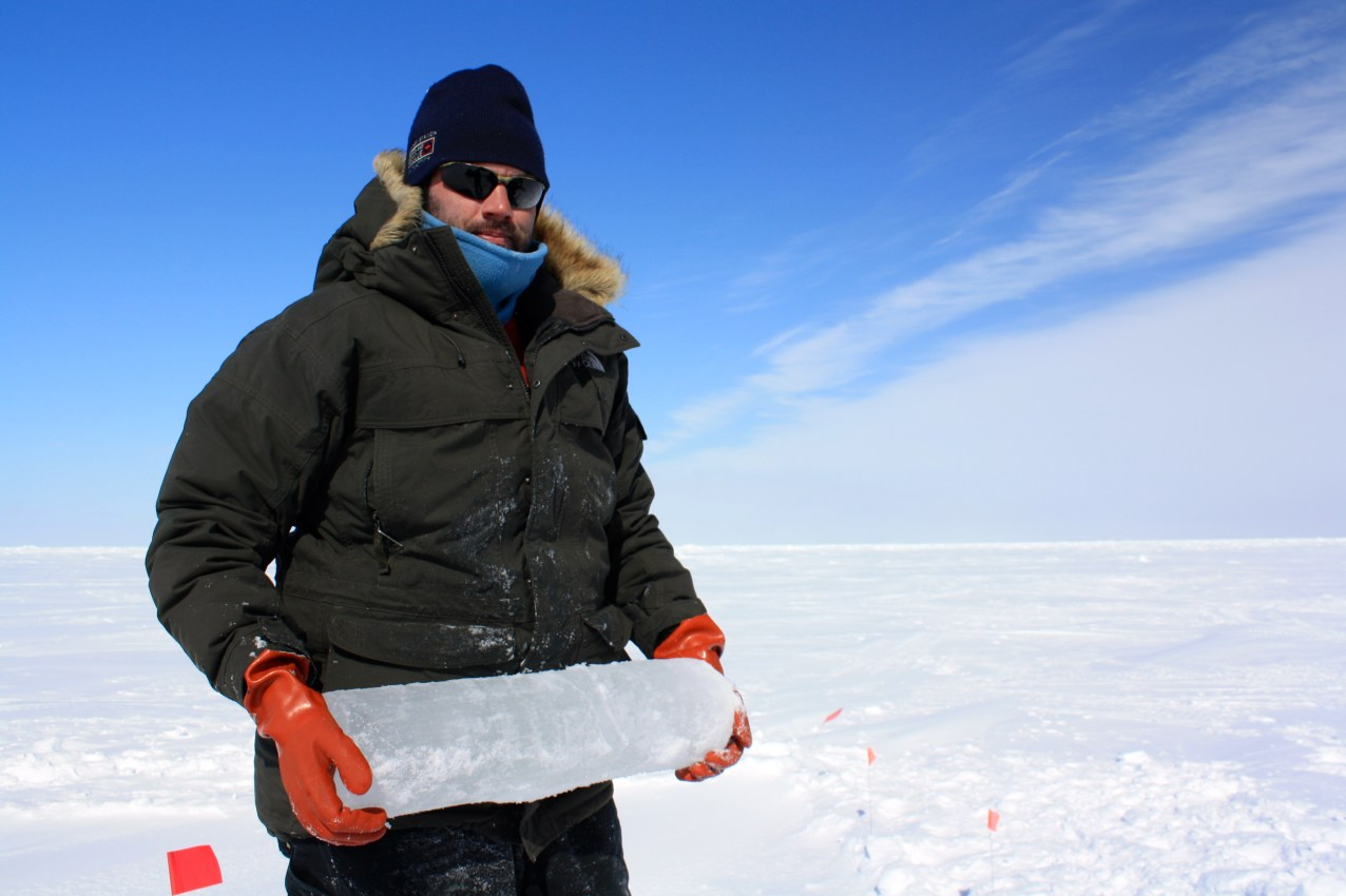 Craig Aumack is an algal biologist and postdoctoral research fellow at Lamont-Doherty Earth Observatory. His research focuses on polar algae and their role in the ecosystem; Craig received funding from the National Science Foundation's Arctic Sciences Division to investigate the importance of ice algae in the Arctic marine food web.