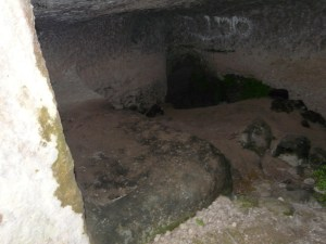 An empty tomb, Bet-Shemesh Israel.