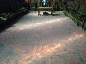 Labyrinth at Bayeux Cathedral