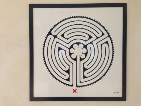 Labyrinth, Park Royal Tube station, London