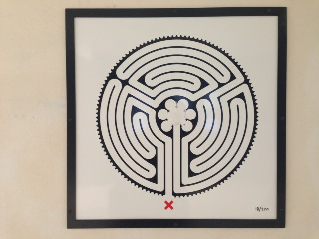 Labyrinth, Park Royal Tube station, London