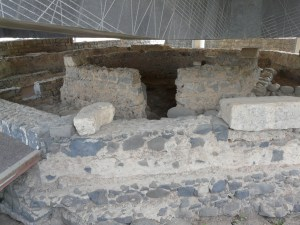 Peter's house in Capernaum.