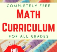 Free Math Curriculum for All Grades at LifeInTheNerddom.com