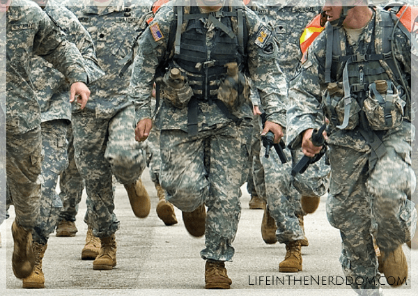 When My Son Joined the Army - Life in the Nerddom