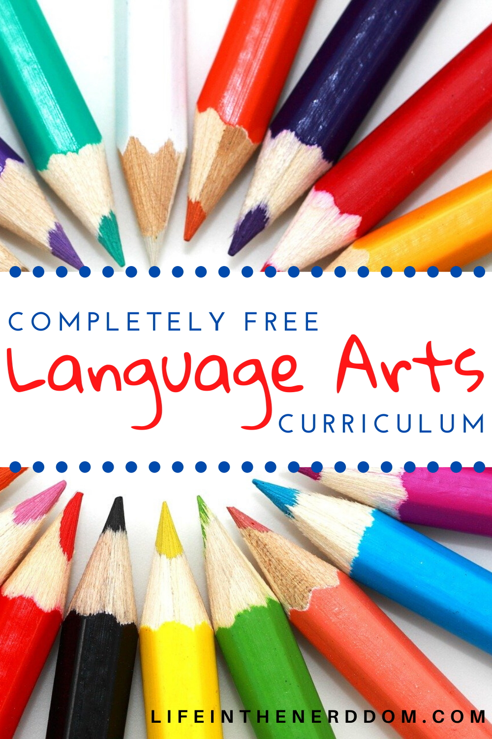 Free Language Arts Curriculum at LifeInTheNerddom.com