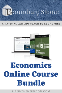 Boundary Stone Economics–A Natural Law Approach at LifeInTheNerddom.com