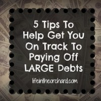 Finding Motivation To Pay Off Large Debts