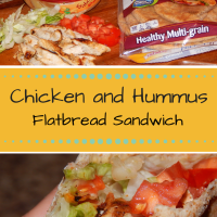 Deliciously Simple Chicken Hummus Sandwich