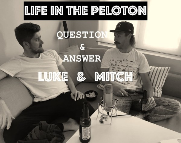 Question & Answer with Luke Durbridge and Mitch Docker