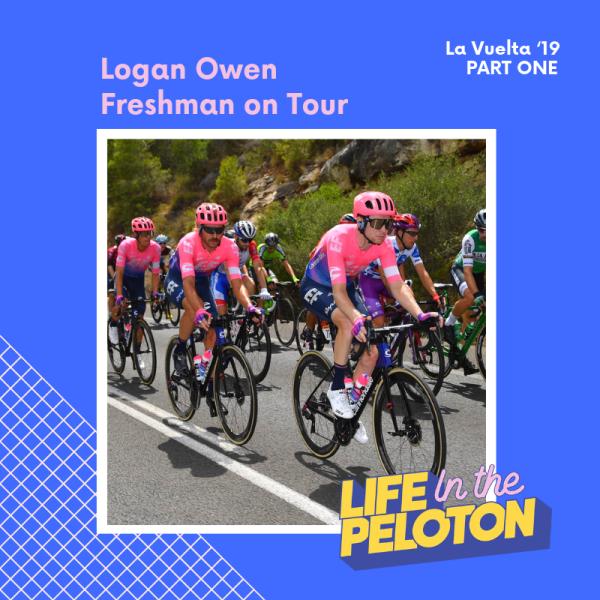 Logan Owen – Freshman on Tour – La Vuelta Part 1