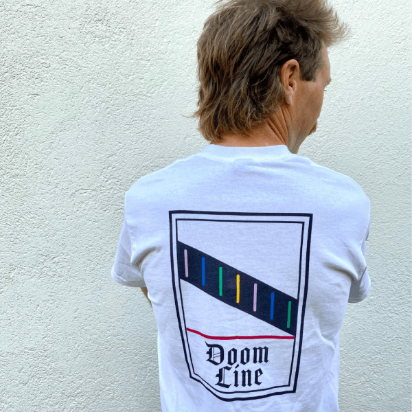 DOOM LINE. Limited edition Tee. Online Now.