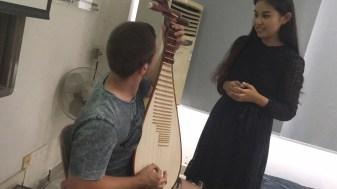 """""""Pipa"""" (chines guitar)"""