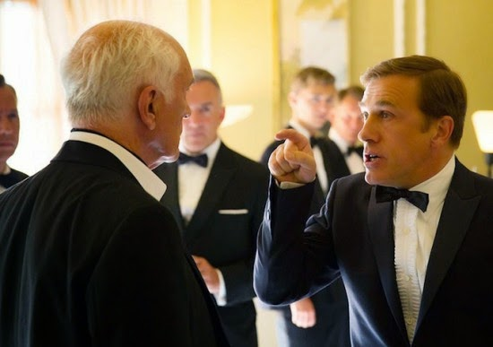 The very unlikeable Christoph Waltz