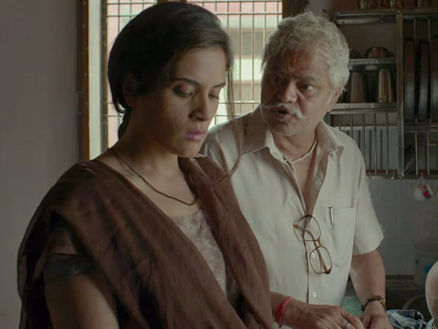Richa Chadda and the masterly Sanjay Mishra