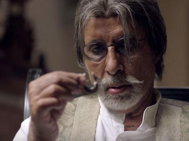 Amitabh Bachchan - craftily, superbly good