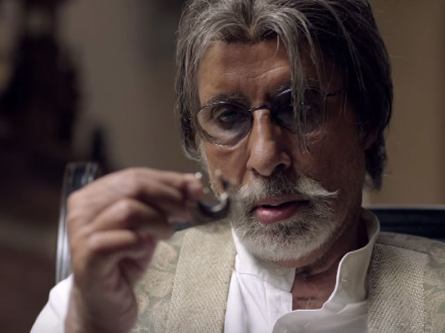Amitabh Bachchan - craftily, superbly good