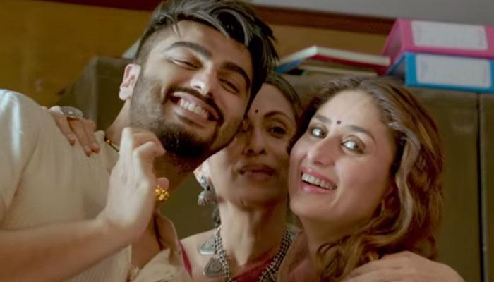 Arjun K, Swaroop, Kareena - mangal suited
