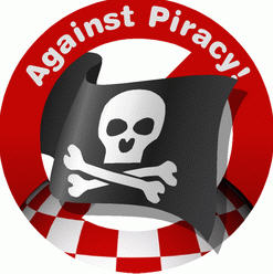 no to piracy