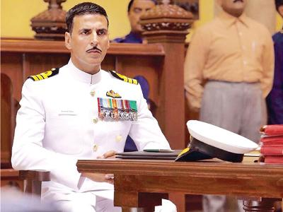 Akshay Kumar - courting her to courtroom