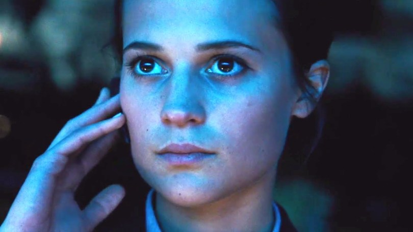 Alicia Vikander  - all eyes and ears