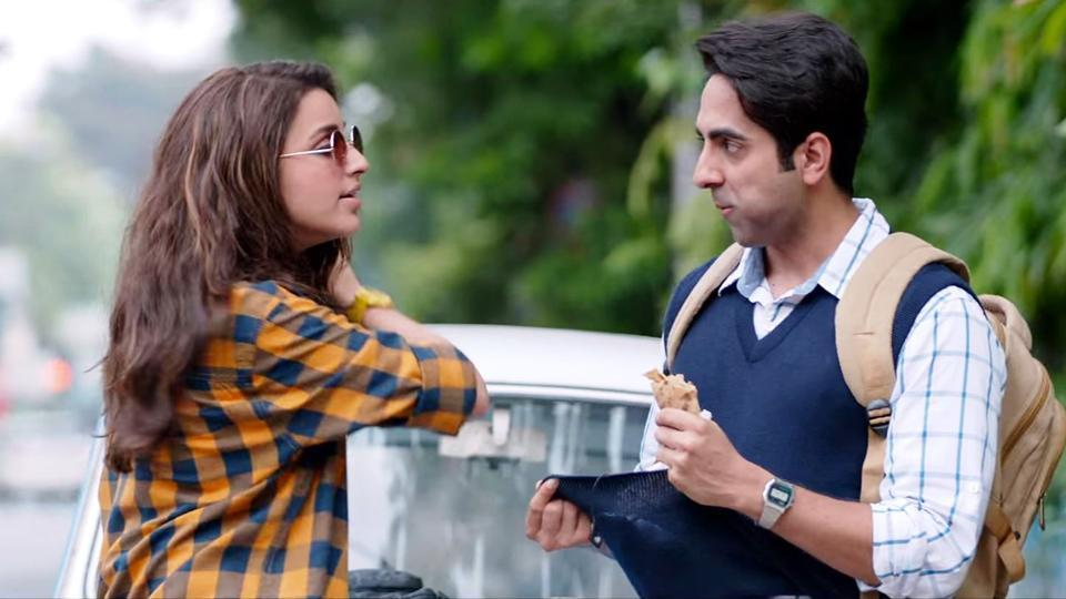 parineeti and ayushmann - love's being up in the air