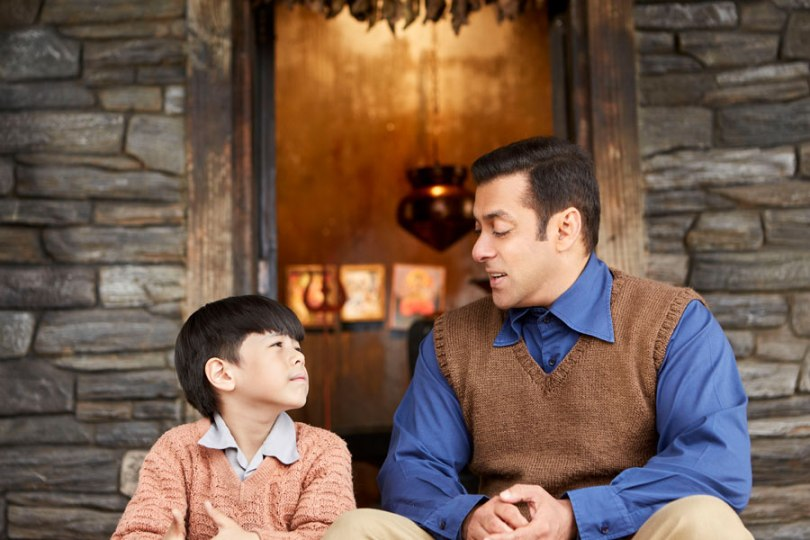 Matin Rey Tangu, Salman Khan discuss weighty issues