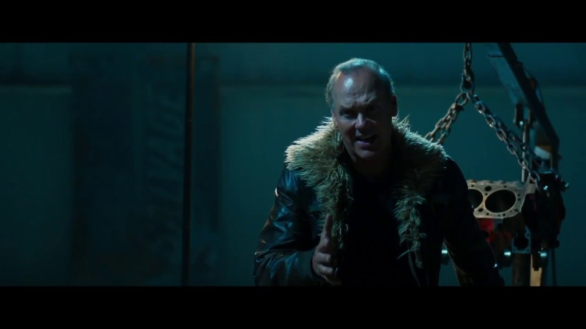 Michael Keaton - the vulture's an evil bird