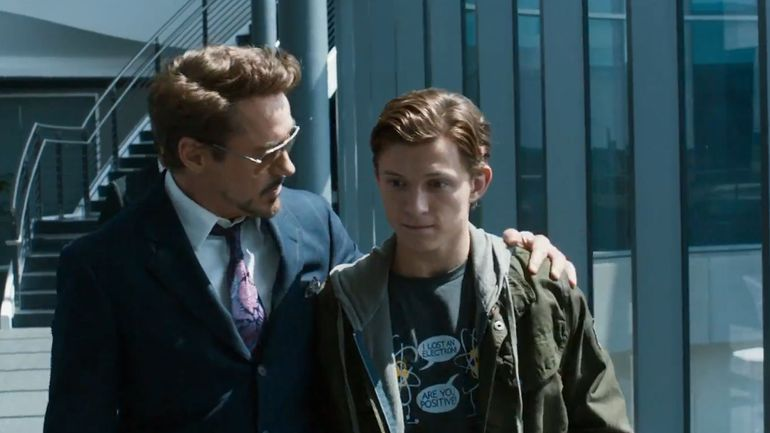 Robert Downey Jr., Tom Holland - the stark truth