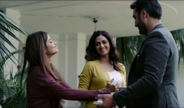 Sajal Ali, Sridevi, and Adnan Siddiqui before the trauma hits them
