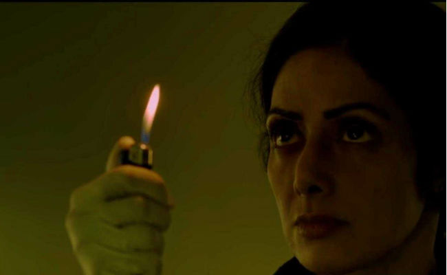 Sridevi - she didn't start the fire