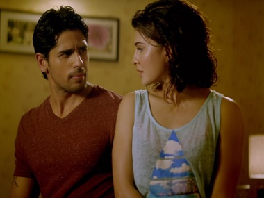 Sidharth Malhotra and Jacqueline Fernandez contemplate getting intimate