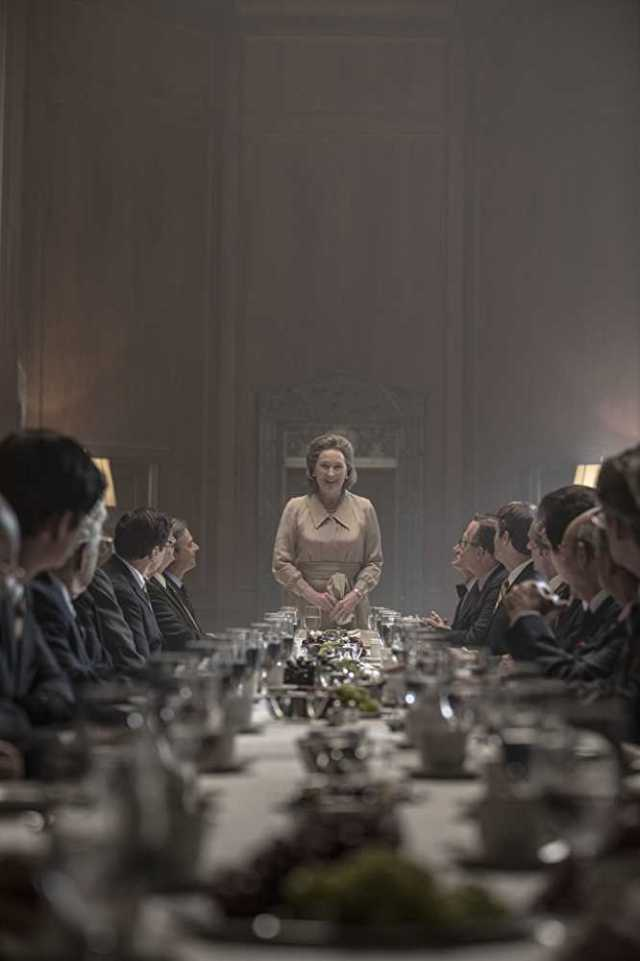 Meryl Streep - at the head of the table, but...